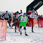 Массовая лыжная гонка «Лыжня России 2015» в Екатеринбурге, фото 11