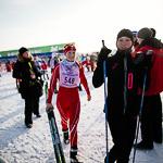 Массовая лыжная гонка «Лыжня России 2015» в Екатеринбурге, фото 45