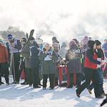 Массовая лыжная гонка «Лыжня России 2015» в Екатеринбурге, фото 49