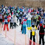 Массовая лыжная гонка «Лыжня России 2015» в Екатеринбурге, фото 65