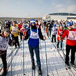 Массовая лыжная гонка «Лыжня России 2015» в Екатеринбурге, фото 69