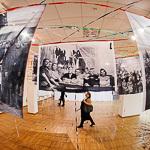 Открытие выставки Леонида Тишкова в Екатеринбурге, фото 49