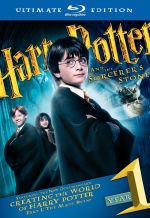 Гарри Поттер и философский камень. Обложка с сайта blu-ray.com