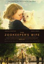 Постер фильма «Жена смотрителя зоопарка»