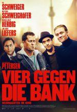 Постер фильма «Четверо против банка»