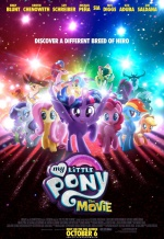 Постер фильма «My Little Pony в кино»