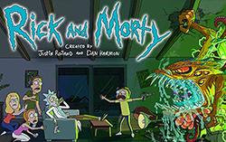 Постер сериала «Рик и Морти»