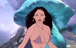 Кадр из мультфильма «Огонь и лед»