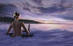 Девушка в проруби. Изображение с сайта lovelus.com