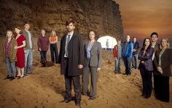 Кадр из сериала «Убийство на пляже»