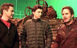 Кадр из ролика Action...Avengers: Infinity War