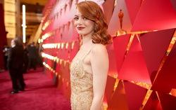"Эмма Стоун на церемонии вручения премии ""Оскар"". Фото с сайта vk.com/oscars2017"
