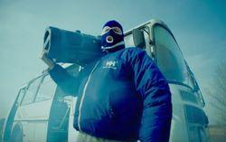 Кадр из клипа «Тает лед»