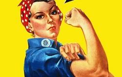 Фрагмент плаката We can do it!