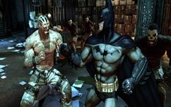 Скриншот из игры Batman: Arkham Asylum