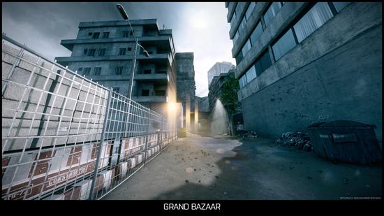 Карта Grand Bazaar выстроена