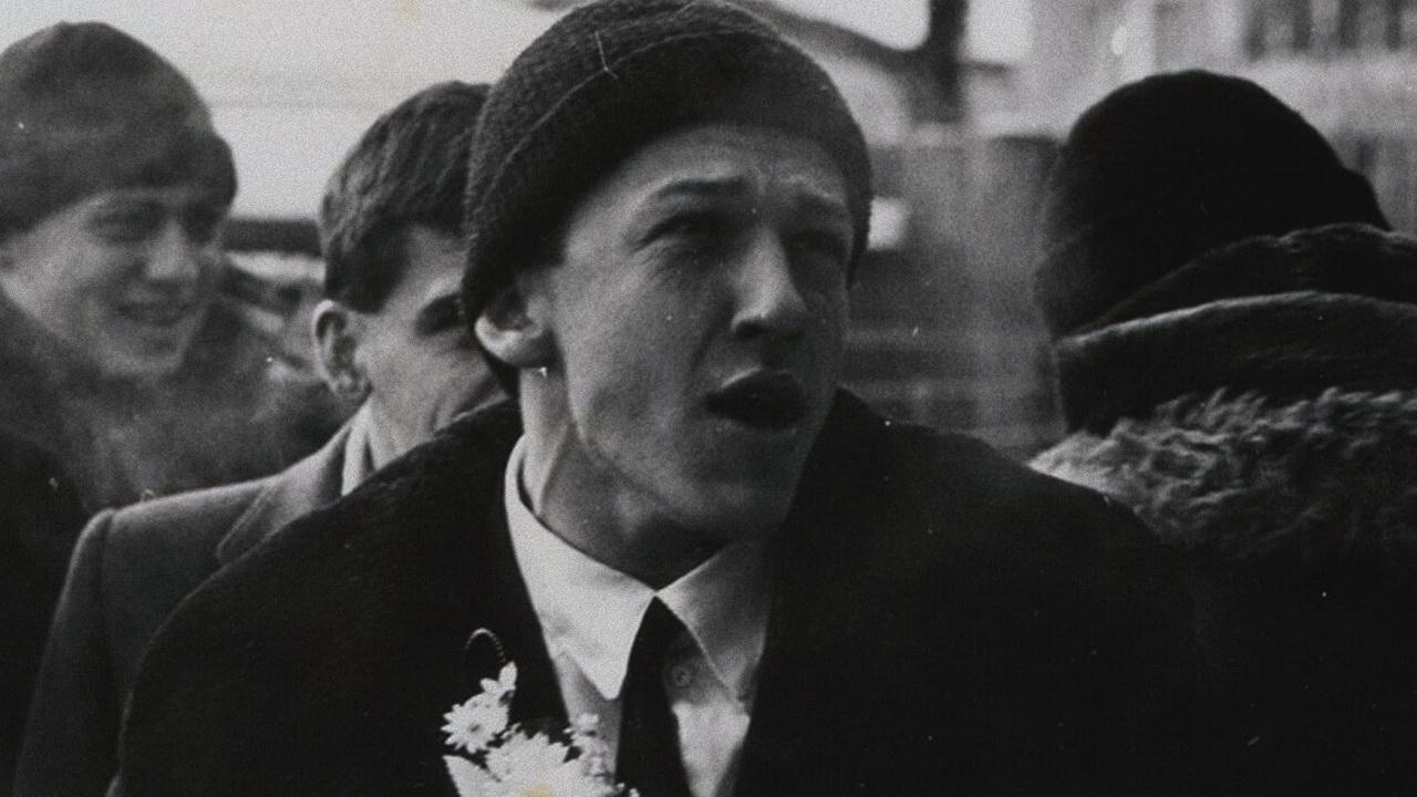 Фото с поэтом Борисом Рыжим с сайта dystopia.me