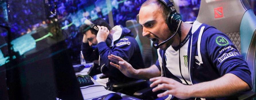 Фото игрока в Ti9 сайта joindota.com