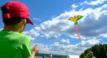 Мальчик и воздушный змей. Фото предоставлено организаторами