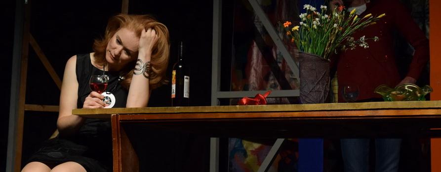 Фото спектакля Притяжение женщины предоставлено организаторами