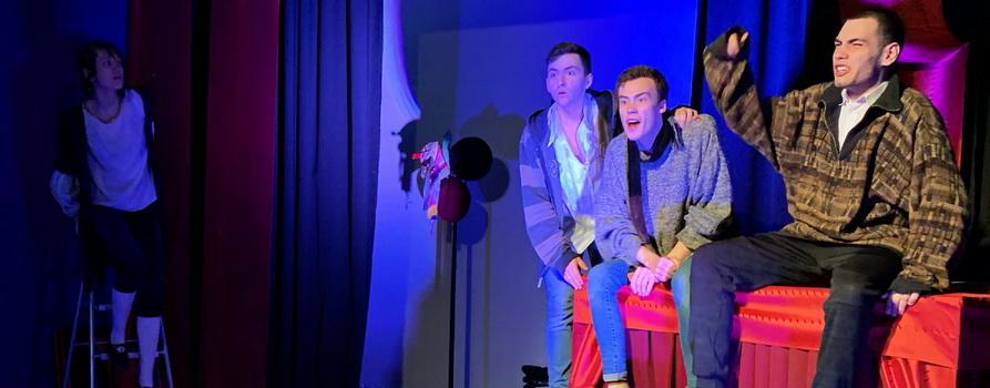 Фото со спектакля «Весь Ш-Ш-Шекспир...» предоставлено организаторами
