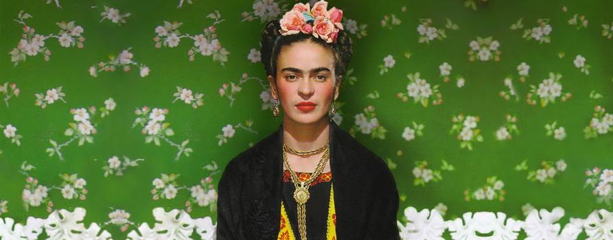 Фото Фриды Кало с сайта thevanderlust.com