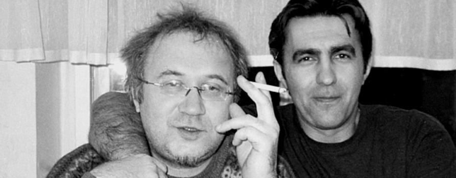 Фото Ильи Кормильцева и Вячеслава Бутусова с сайта nsn.fm