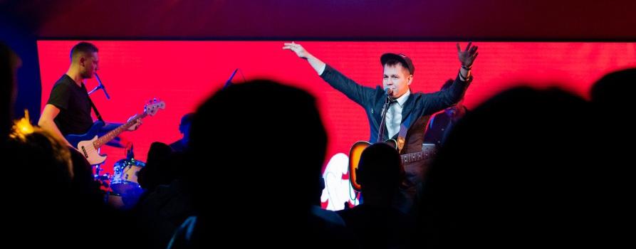 Patrick Cash 2 ноября в клубе Center Music Club. Фото предоставлено организаторами