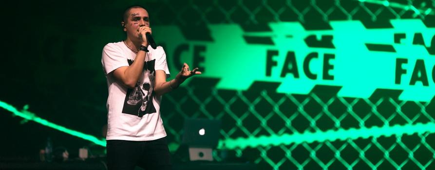 Фото с концерта FACE с сайта vk.com