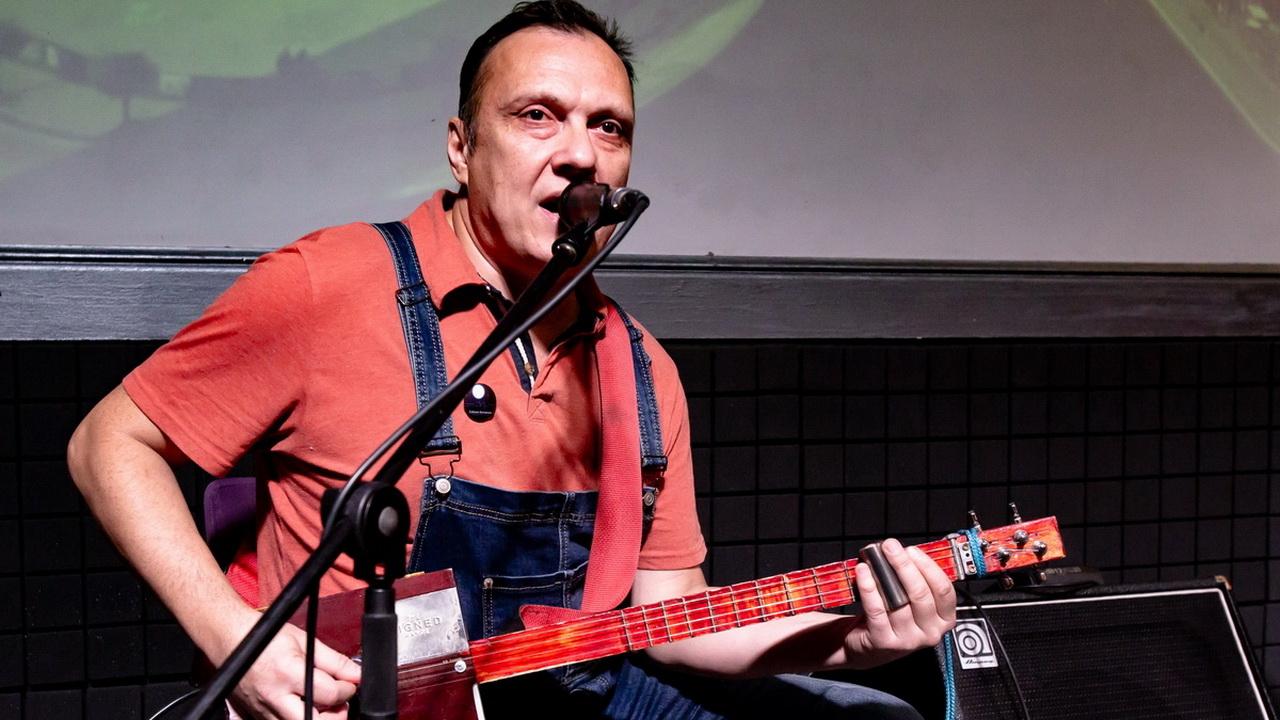 Фото с концерта группы «Собаки Качалова» с сайта vk.com