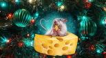 Фото с новогодней мышью с сайта goodfon.ru