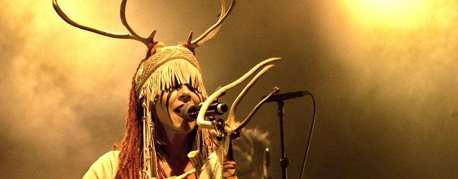 Фото с концерта Heilung с сайта planetrock.ru