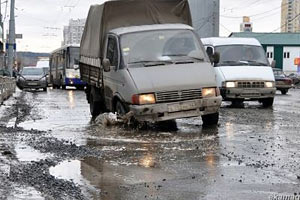 Екатеринбург, дороги. Фото с сайта podonki.info