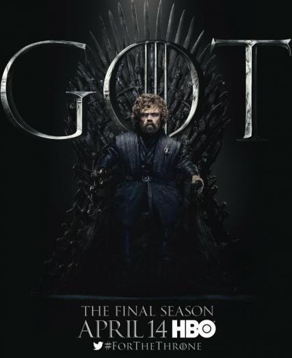 Постер к финальному сезону «Игры престолов»