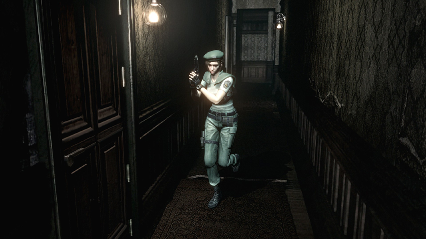 Скриншот из игры Resident evil HD Remaster