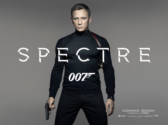 Постер фильма «Агент 007: Спектр»