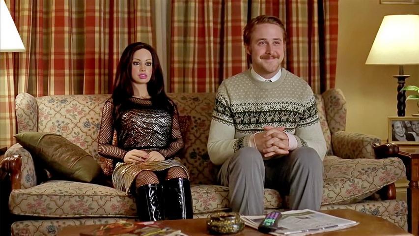 Кадр из фильма «Ларс и настоящая девушка»
