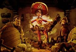 Кадр из фильма «Пираты! Банда неудачников»
