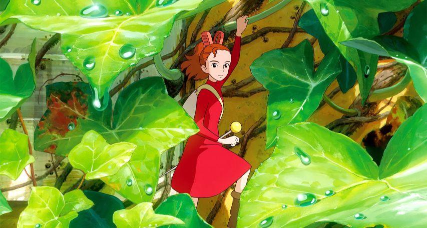 Кадр из мультфильма «Ариэтти в стране лилипутов»