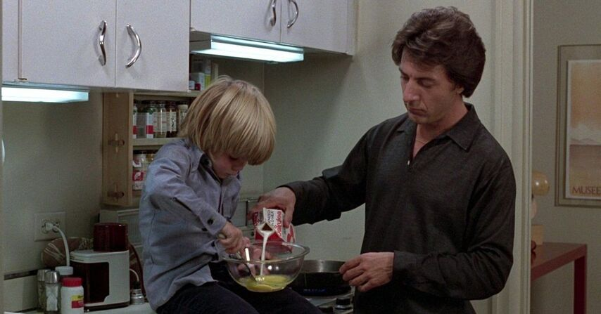 Кадр из фильма «Крамер против Крамера»
