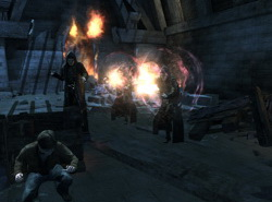 Скриншот из игры «Гарри Поттер и Дары Смерти 2»