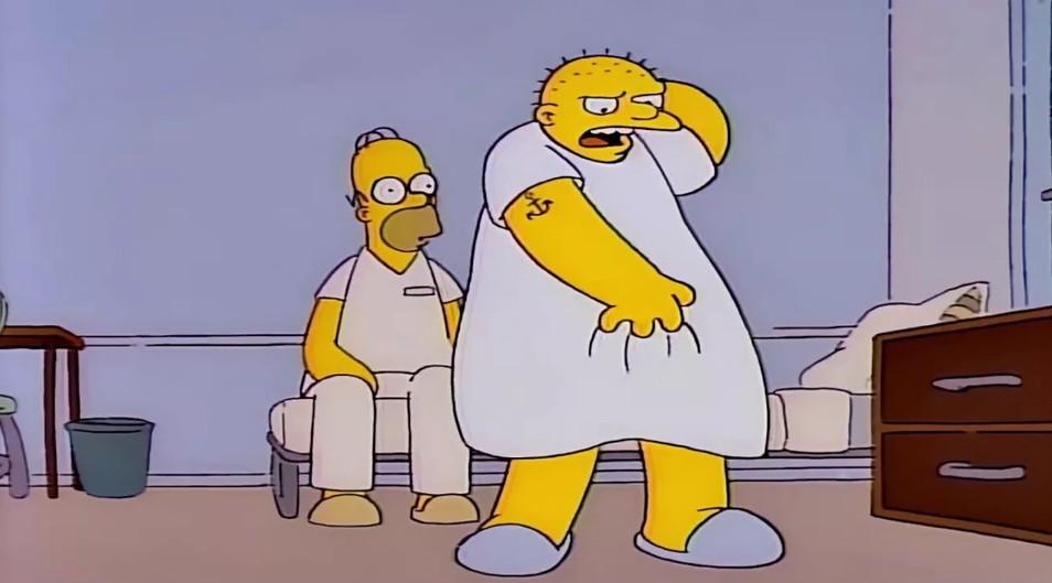 Кадр из сериала «Симпсоны»