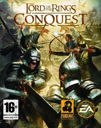 Обложка игры «Lord of the Rings: Conquest»