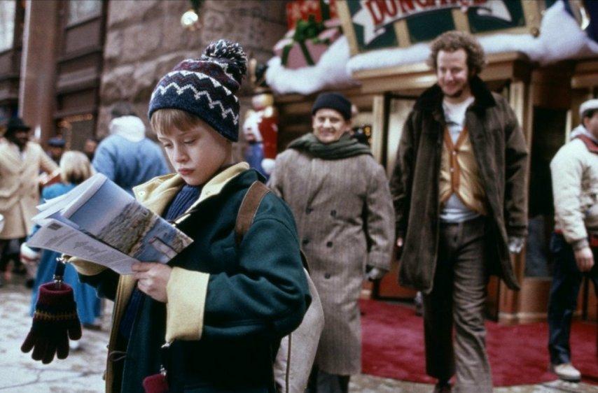Кадр из фильма «Один дома 2»