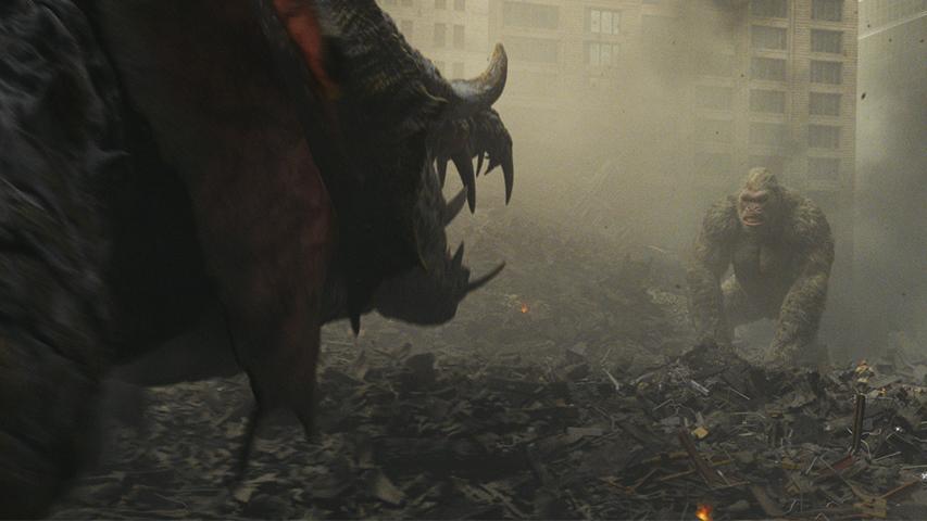Кадр из фильма «Рэмпейдж»