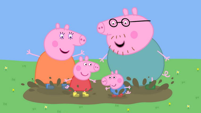 Кадр из мультфильма «Свинка Пеппа»