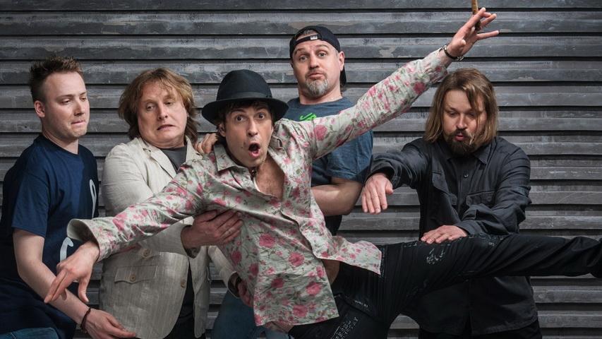 Группа «Ноги свело». Фото с сайта vistanews.ru