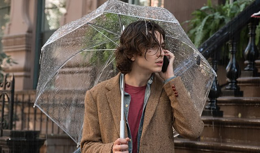 Кадр из фильма Дождливый день в Нью-Йорке