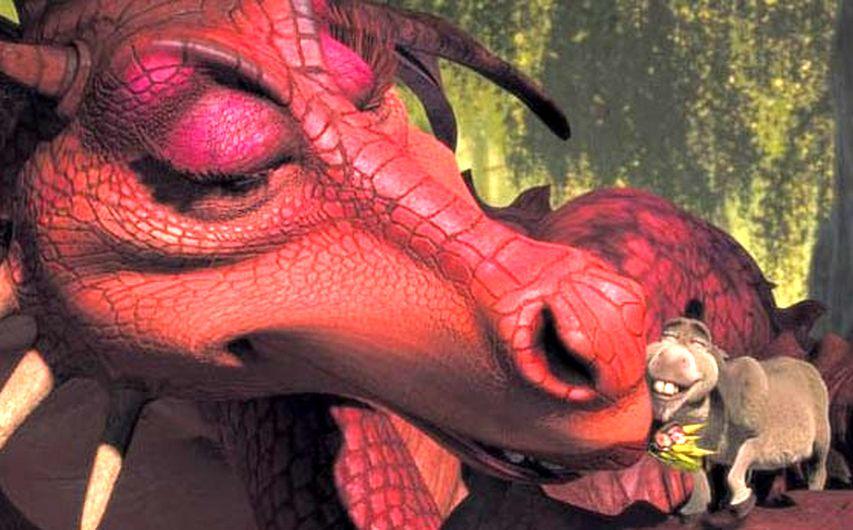 Кадр из мультфильма «Шрэк 2»
