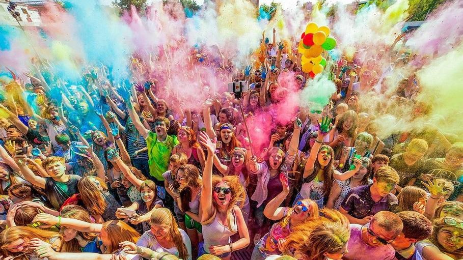 Фестиваль Happy Color в Екатеринбурге 14 июля